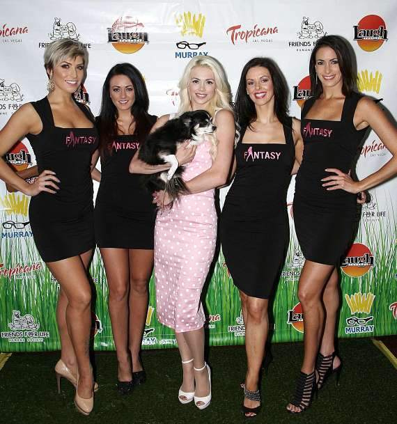Kristin Ratatori, Isabella Rossetti-Busa, Chloe Louise Crawford, Tracey Gittins and Yesiney Burgess