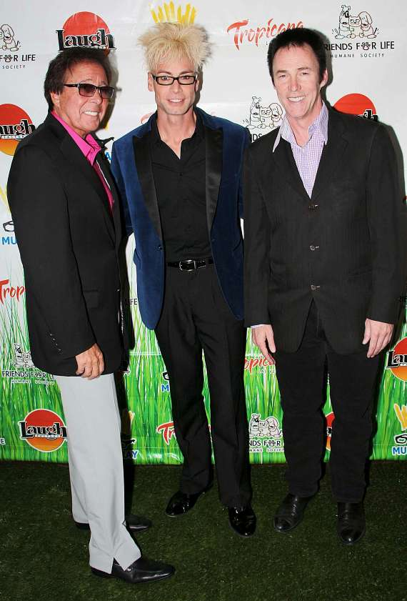 Dennis Bono, Murray SawChuck and Lance Burton