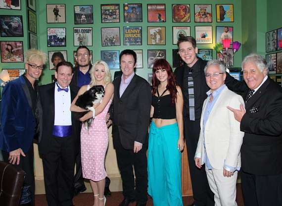 Murray SawChuck, Fielding West, Geechy Guy, Chloe Louise Crawford, Lance Burton, Lisa Marie Smith,  Mark Bennick, Tim Molyneux and Lenny Windsor
