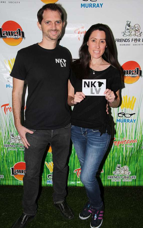 Bryce and Jennifer, Founders of NKLV