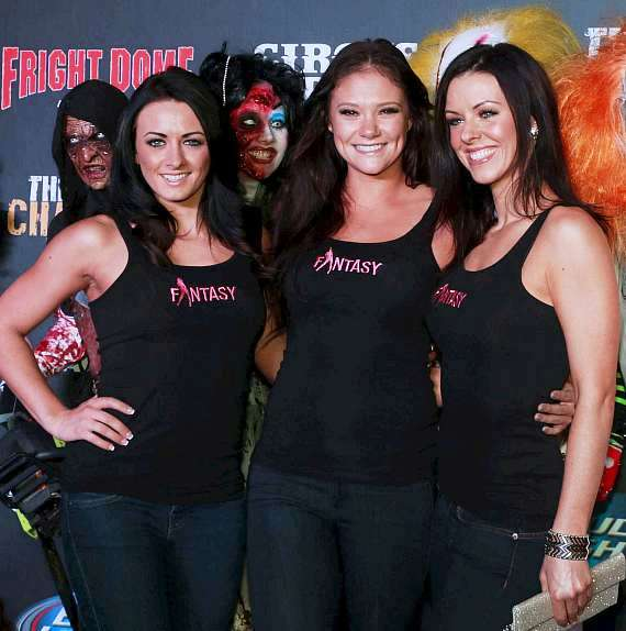 Ladies of FANTASY at Luxor: Danielle, Isabella and Tracey