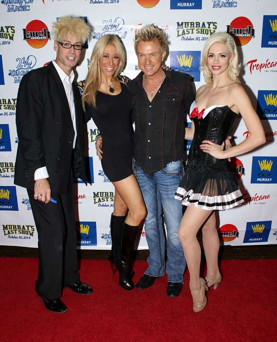 Murray and Chloe with Lydia Ansel and Chris Phillips of Zowie Bowie