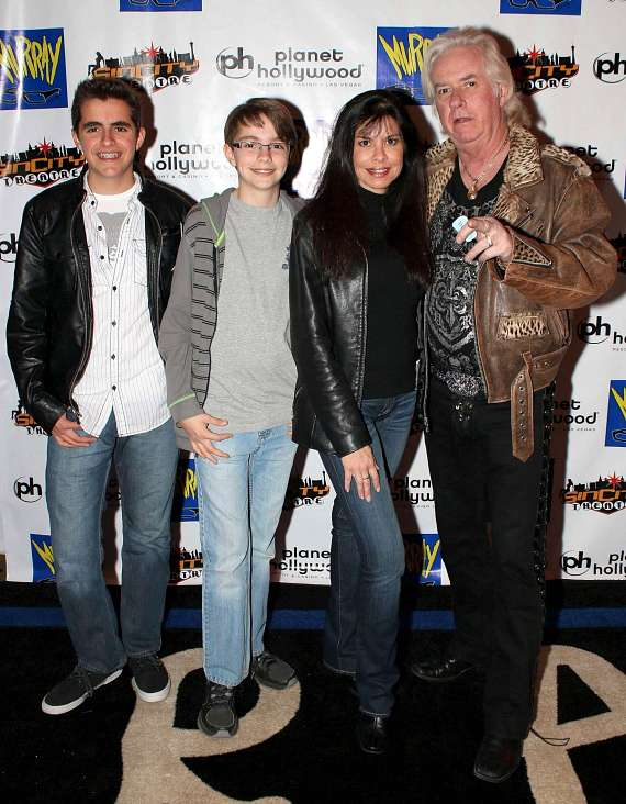 Guitarist Howard Leese and Family