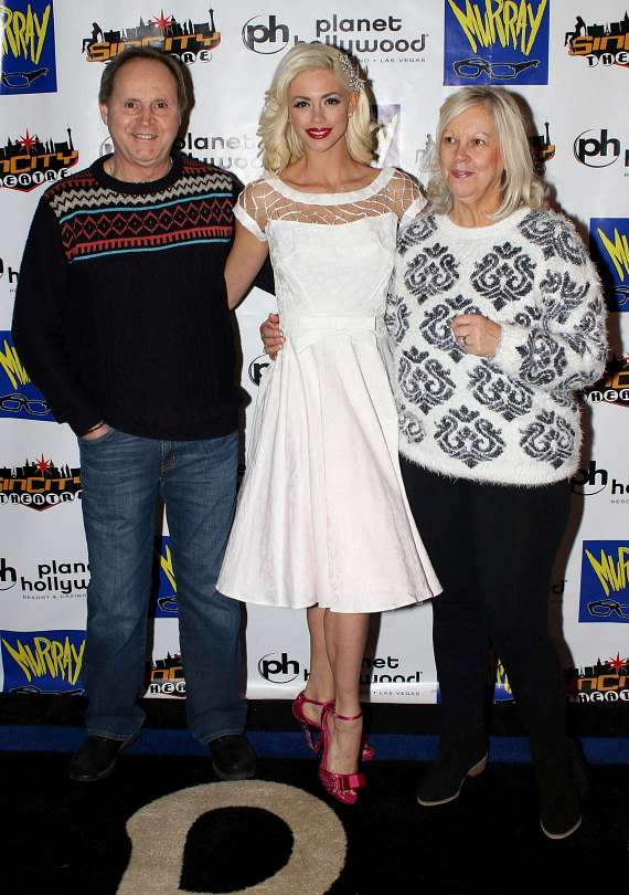Jim Sutherland, Chloe Louise Crawford and Chloe's mom, Jane Crawford