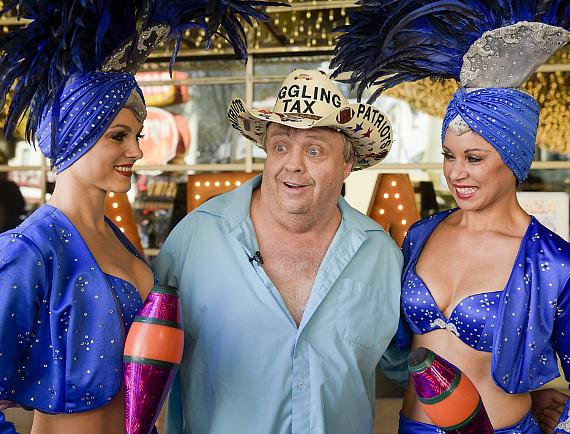 Daniel Mann with Las Vegas Showgirls