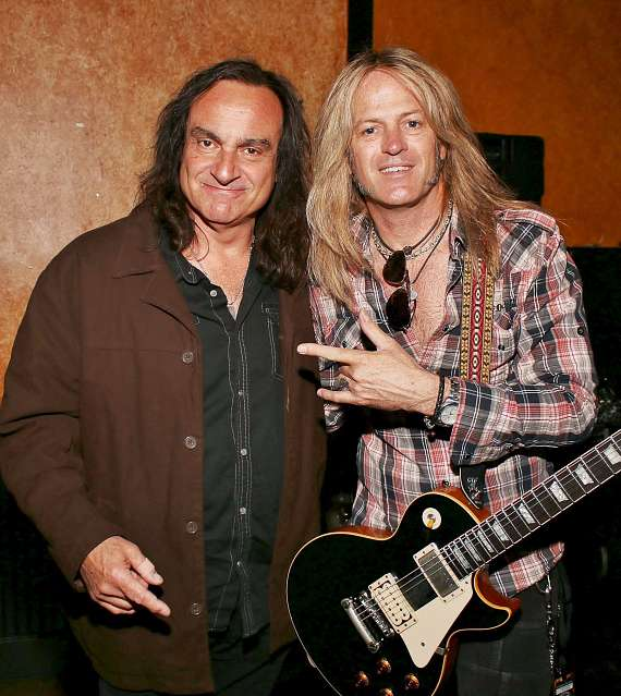 Vinnie Appice and Doug Aldrich
