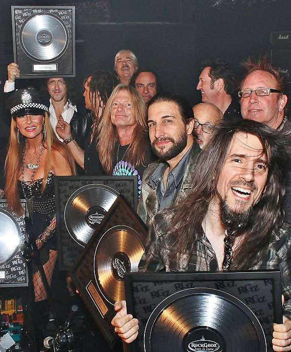 Rock Godz Hall of Fame Induction Ceremony