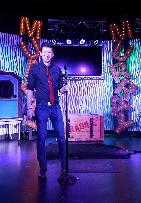Ben Young guest stars in MURRAY  'Celebrity Magician' at Planet Hollywood in Las Vegas