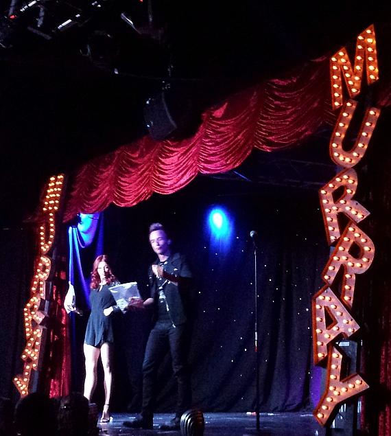 Leon and Romy perform in MURRAY 'Celebrity Magician' at Planet Hollywood