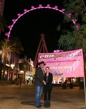 The High Roller Turns Pink in Honor of PBR's Pink Promise