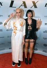 Nina Sky and DJ Reach Celebrate NYE at LAX Nightclub inside Luxor Hotel & Casino
