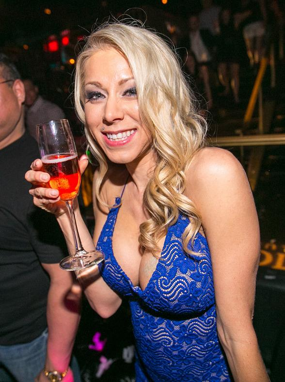 Katie Morgan Celebrates Birthday at Body English at Hard Rock Hotel Las Vegas