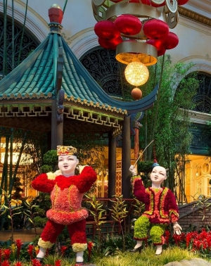 Ring in the Year of the Ram with Celebratory Dances, Authentic Cuisine and Vibrant Displays at Las Vegas' Premier Resorts