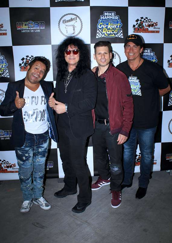 Mateo, Paul Shortino, Mike Hammer and Gordie Brown