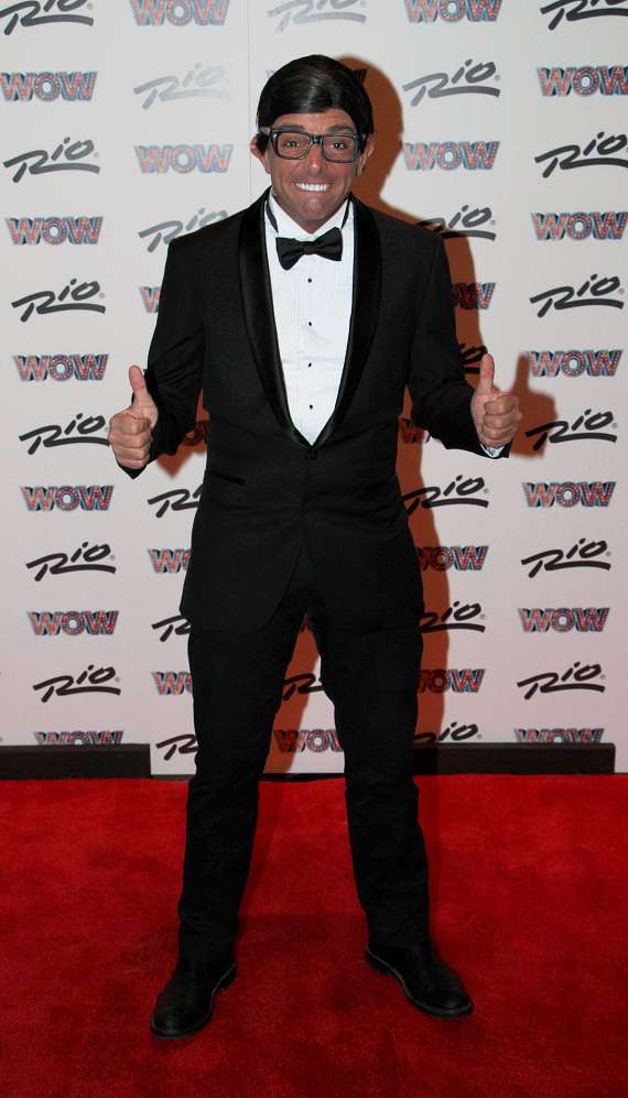 WOW cast member Alessandro Traisci at WOW Grand Opening at Rio All-Suite Hotel & Casino in Las Vegas