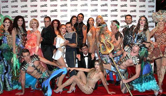 WOW cast members at Rio All-Suite Hotel & Casino