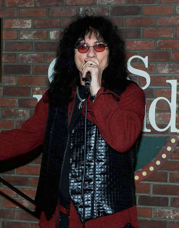 "Singer Paul Shortino at Ellis Island's ""Sing for Strength"""