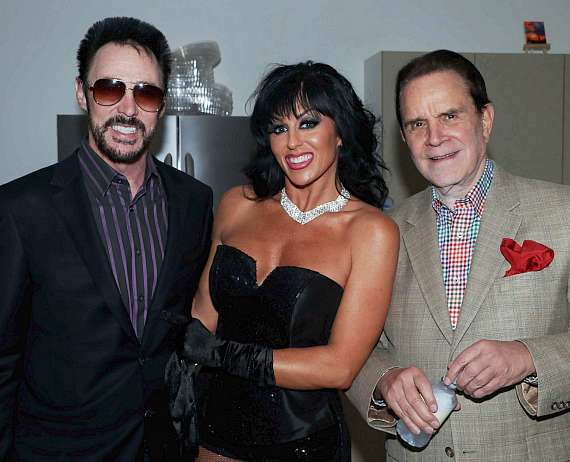 Lance Burton, Jennifer Romas and Rich Little