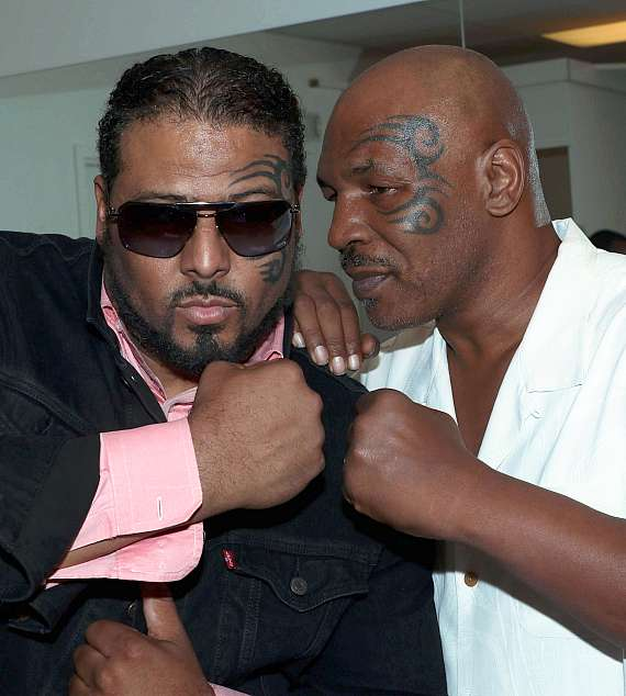 Al B Sure with Mike Tyson