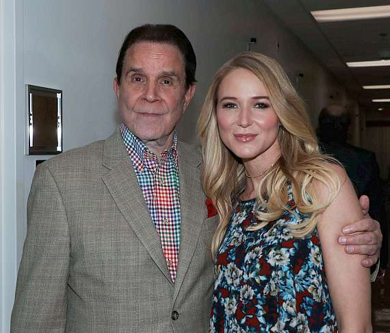 Rich Little and Singer Jewel