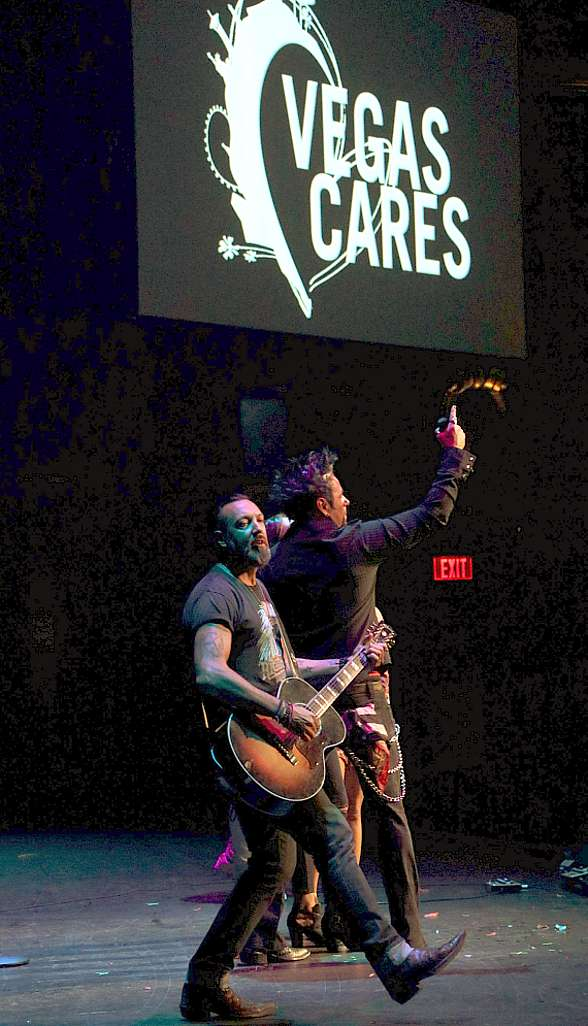 "Photos of the Grand Finale at ""Vegas Cares"" at The Venetian Las Vegas"