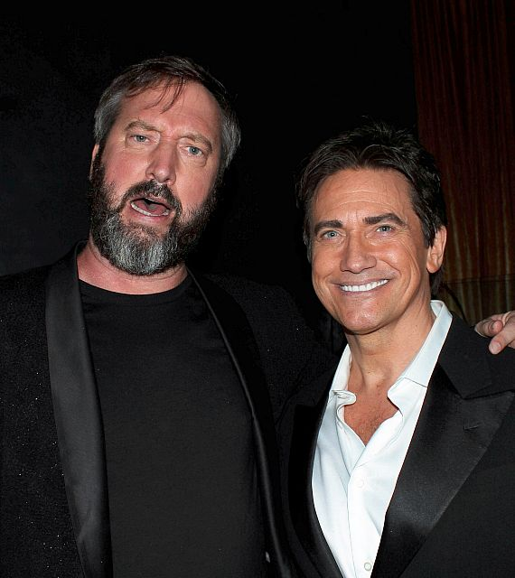 Comedian Tom Green with Gordie Brown