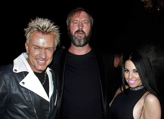 Zowie Bowie, Tom Green and Jennifer Lynne Phillips