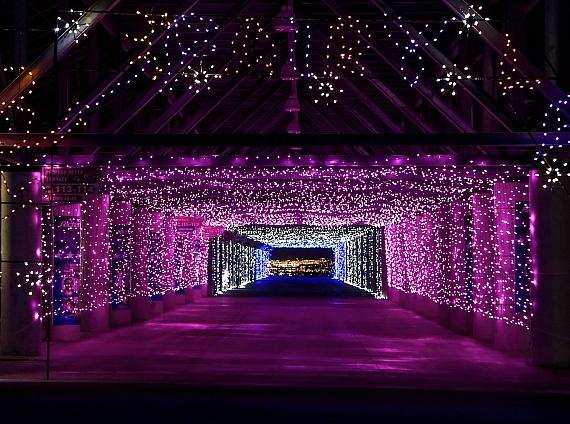 Glittering lights at las vegas motor speedway launches for Motor speedway las vegas christmas lights