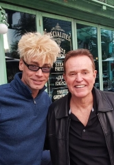 "MURRAY has Lunch with Steve Hytner who played Kenny Bania on the NBC series ""Seinfeld"""