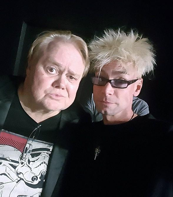 "Murray The Magician Visits his Buddy Louie Anderson at The ""Back"" Space"