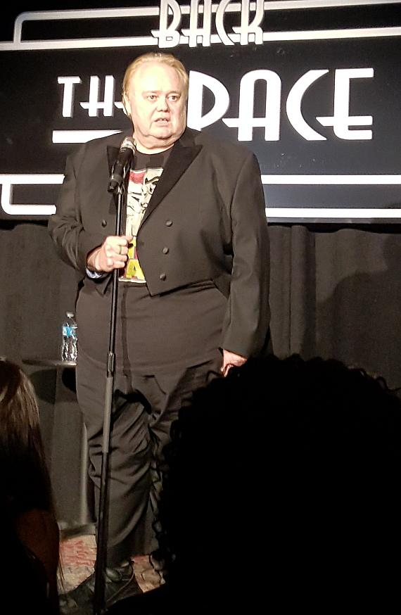 Emmy Award-winning comedian Louie Anderson at The 'Back' Space in Las Vegas