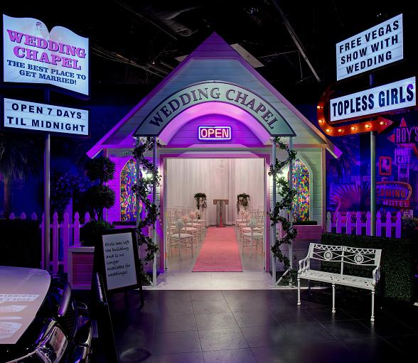 Madame Tussauds Las Vegas Debuts World's First Hangover Wedding Chapel