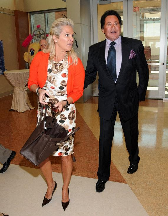 Wayne Newton and wife Kathleen at Opportunity Village