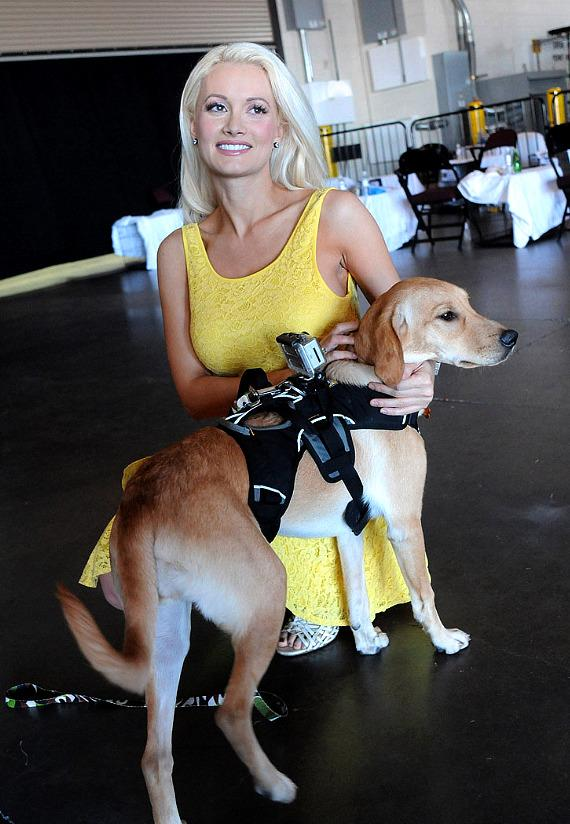 Holly Madison at The Animal Foundation's 'Best in Show' at The Orleans Arena in Las Vegas