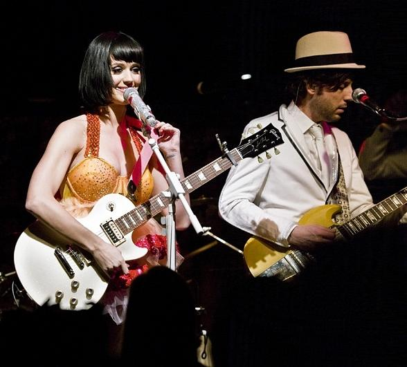Katy Perry performs at Hard Rock Hotel & Casino
