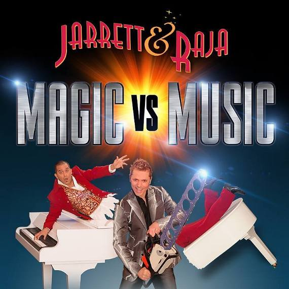 "Jarrett & Raja of ""Magic vs. Music"""