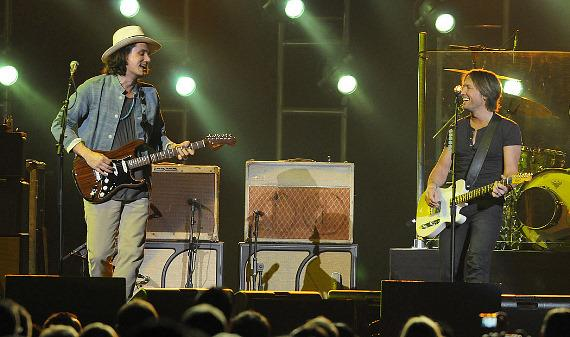 John Mayer and Keith Urban