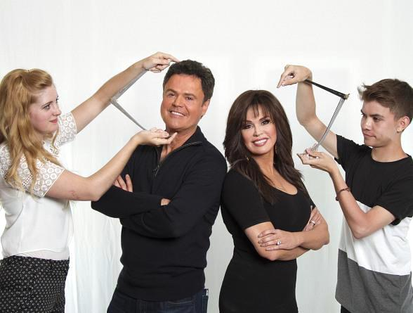Donny & Marie to Unveil their Madame Tussauds Wax Figures on Tuesday, Feb. 9 in Las Vegas