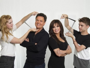 Donny & Marie Give Sneak Peek of Madame Tussauds Las Vegas 2016 Wax Figures