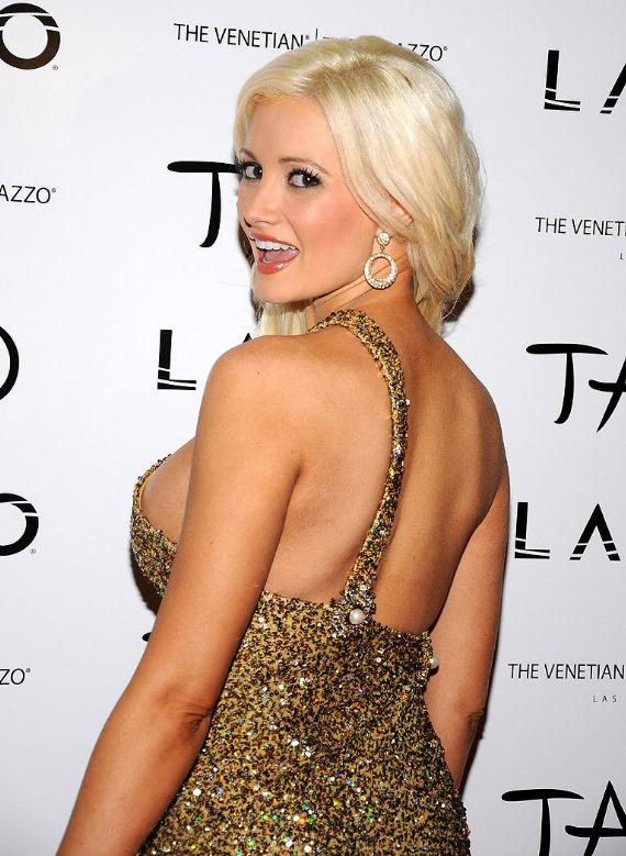 Holly Madison arrives at LAVO