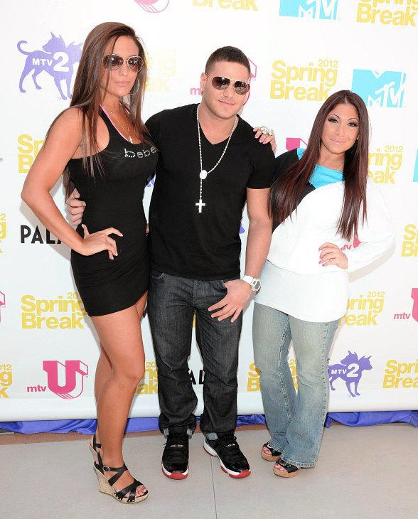 """Jersey Shore's"" Sammi ""Sweetheart"" Giancola, Ronnie Ortiz Magro and Deena Nicole Cortese Party at The Palms"