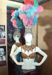 "Iconic ""Folies Bergere"" Costume now on Display at The Mob Museum"