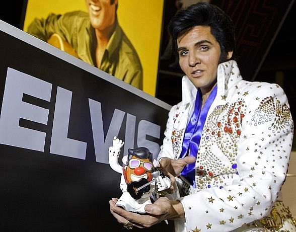 Mr. Potato Head Elvis Presley figures launch August 2010