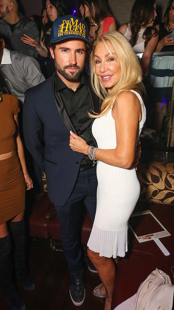 Brody Jenner and Linda Thompson at TAO