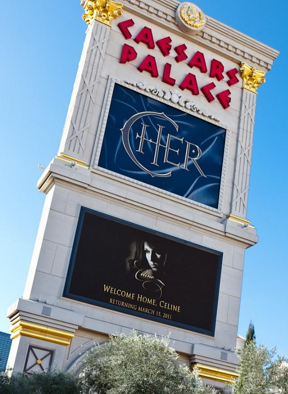 Celine Dion returns to Caesars Palace March 15