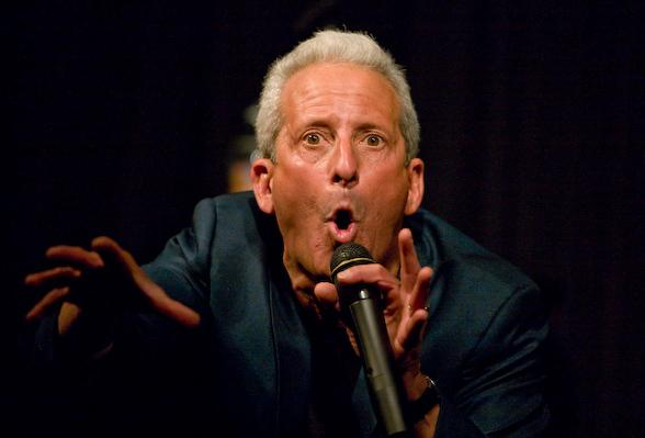 Bobby Slayton at Hooters