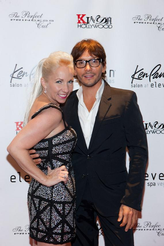 Eleven Spa owner Nicole Oden and Ken Paves