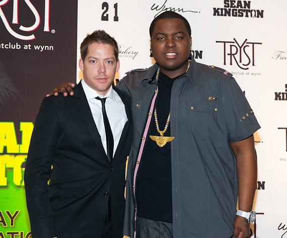 Tryst operating partner Jesse Waits with Sean Kingston