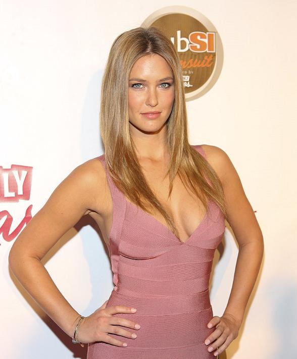 Bar Refaeli at Sports Illustrated party at LAX in Luxor