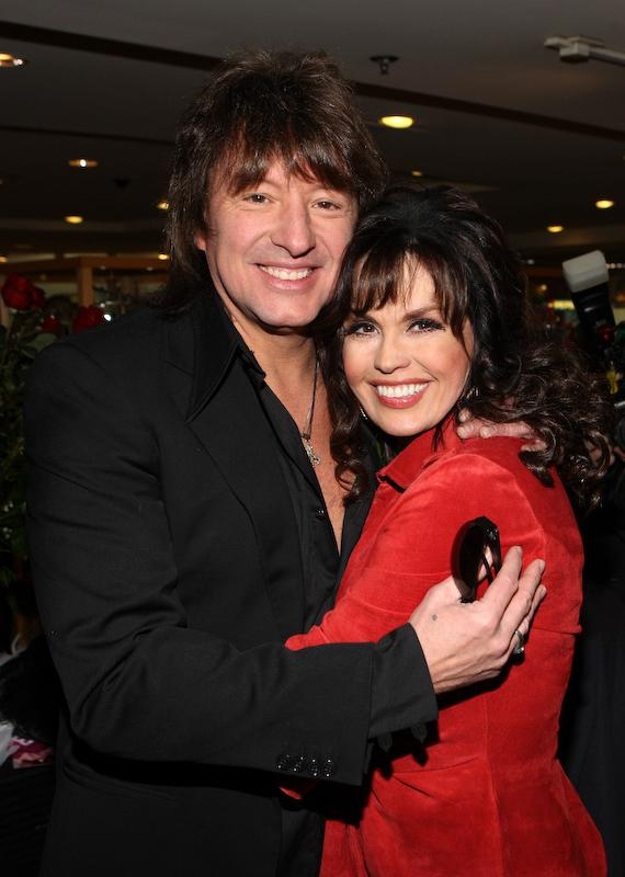 Richie Sambora and Marie Osmond at Sweetheart Doll Signing event at The Flamingo